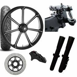Rc 26 Mission Eclipse Wheel Tire Neck Rake Front End Package Harley Single Side