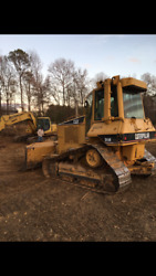 Cat Caterpillar D5N bull dozer high track  VERY STRONG W CAB & COLD AC