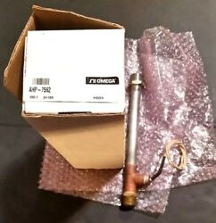 """1 OMEGA OMEGALUX AHP-7562 """"T"""" TYPE AIR HEATER In-line Air & Gas Heating Open Box"""