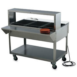 Electric Hot Food Table - Servewell 46-1/2w, 3 Holes, 120v, 480 Watts/well