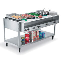 Vollrath 38118 Electric Hot Food Table - Servewell 61-1/4w 4 Holes 208/240v