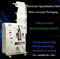 Fully Automatic Liquid Packaging Machine Filling and Sealing Machine