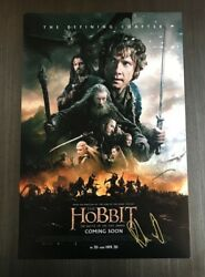 Richard Armitage Signed Autographed 12x18 Poster Photo The Hobbit 1