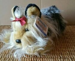 Animal Alley Yorkshire Terrier Stuffed Plush Animal Purebred Collection With Tag