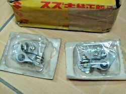 Suzuki T200 T20 Tc200 Tc250 L/r Contact Point Assy Nos 31440-11010and31460-11010
