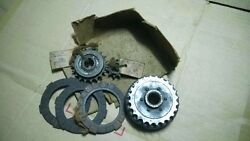 Jlo Moped Motorcycle Clutch Housingandplate With Starting Sporcket Bigandsmall Nos
