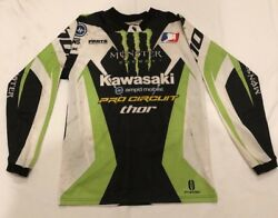 Ryan Villopoto Autographed Race Worn Gear Set Jersey And Pant