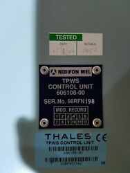 Thales Tpws Train Protection And Warning System Controll Unit 606108-00