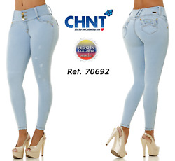 Chnt Jeans Colombianoscolombian Push Up Jeanslevanta Cola Usa Size 7 And 9