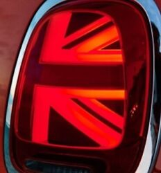 MINI F55 F56 F57 Conversion kit rear tail lights Facelift UNION JACK design
