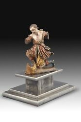 Sculpture Polychromed Wood Italy 16th Century