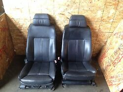 BMW OEM E65 E66 745 750 760 SEATS FRONT LEFT AND RIGHT SEAT AC HEAT 2002-2008