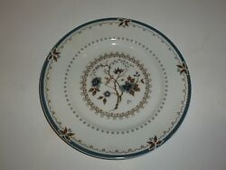 Lovely Royal Doulton Old Colony Plate, Blue And Brown, 8-1/8