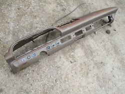 63 64 Ford Galaxie Metal Dash Frame Shell Oem Solid No Rust Rot