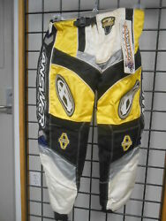 Nos Answer S 26 Mx Dirt Bike Motocross Competition Racing Team 2 Pants 04198