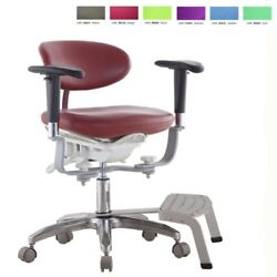 Microscope Dynamic Chair Medical Seat Dentist Chair With Foot Base New Style