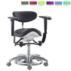 Microscope Dynamic Chair Saddle Stool Medical Seat Dentist Chair Foot Controlled
