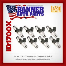 Set Of 8 Injector Dynamics Id1700.60.14.14b.8 Fits Ford Mustang Gt 2011+