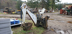 Bobcat 811 Backhoe Attachment For Skid Steer Loader with 2 buckets!