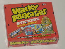 Topps Wacky Packages 2004 All New Series 1 Unopened Box Wrapped 24 Packs Sealed