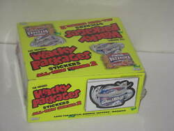 Topps Wacky Packages 2004 All New Series 2 Sealed Box Wrapped 24 Packs Magnets