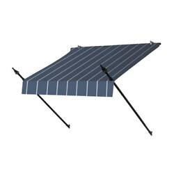 Awnings in a Box 4 ft. Designer Manually Retractable Awning (36.5 in. in Tuxedo
