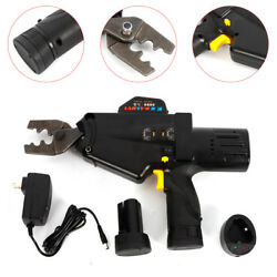 Crimping Tool Power Crimper Kit for Wire Terminals Connectors Non Ratcheting UPS