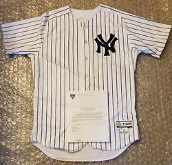 Neil Walker Ny Yankees 2018 Home Opening Day Game Used Jersey Mlb And Steiner Auth