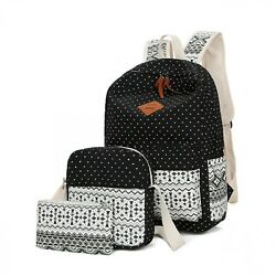Women Backpacks High Quality Canvas For Kids School Bags Fashion Ethnic Style $49.75