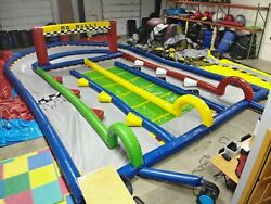 Commercial Grade Bounce House - RC Inflatable Track - Remote Control Car Track