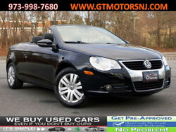 2010 Volkswagen Eos Komfort Komfort NAVIGATION LEATHER SEATS NO ACCIDENTS CONVERTIBLE 2 dr Automatic Gasolin