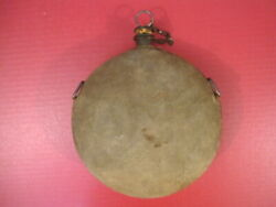 Indian War Us Pattern 1878 Canteen W/original Cork And Chain - Very Nice 1