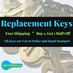 Replacement Cole Furniture Key - Series 5000-5130 -buy 1 Get 1 50 Off