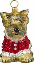 JOY TO THE WORLD Collectibles Diva Dogs Yorkie Yorkshire Puppy In Crystal Coat