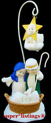 Dept. 56 Snowbabies A Star Shone Down Where He Lay Special Edition Manger 06495