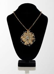 YSL Yves Saint Laurent Vintage Collectors Starburst Necklace