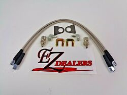 Wilwood 220-8307 Brake Flex Line Kit 18and039and039 Length Inlet -3an Female Straight