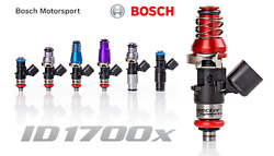 Injector Dynamics 1700x Fuel Injectors For Nissan 240sx S13 S14 S15 89-02 11mm