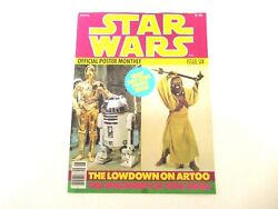 Star Wars Official Poster Monthly Issue Six 1977 Excellent Condition R2d2 C3po