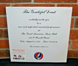 The Grateful Dead - One From The Vault Limited 3lp Black Vinyl Tri-fold Jacket