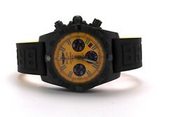 Breitling Chronomat 44 Blacksteel Special Edition Yellow MB0111 MB0111C3I531