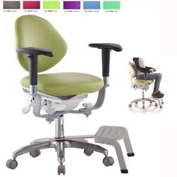 2019 New Style Microscope Dynamic Chair Medical Seat Dentist Chair W/ Foot Base