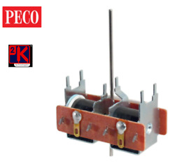 Peco Pl-10e - Trade Multi Pack=6 Items Extended Pin Standard Point Motor T48post