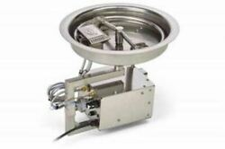Hpc Fire 13 Round Pan 120vac Hi/low Fire Pit Insert - Natural Gas