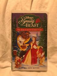 Beauty And The Beast An Enchanted Christmas Vhs, 1997