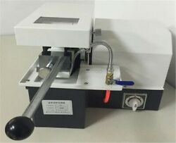 Q-2 Metallographic Cutting Machine 3535mm Metallographic Sample Cutter New Cl