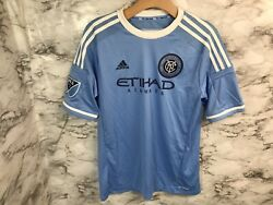 New York City Fc Youth Adidas Home Soccer Jersey Mls Nwt Boys Youth Xl