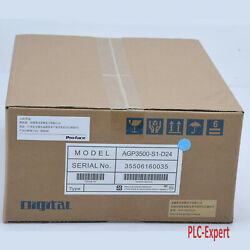 1pc New In Box Proface Pro-face Agp3500-s1-d24 Hmi Touch Screen Panel