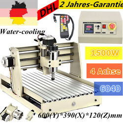 4Axis 6040 1.5KW CNC Router Engraver Wood Metal Engraving Milling Drill Machine