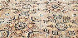 Masterpiece Antique Cr1930-1949s Muted Colors, Wool Pile Armenian Oushak Rug